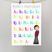 Personalised Alphabet poster