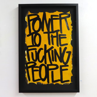 Power To The Fucking People | Sold