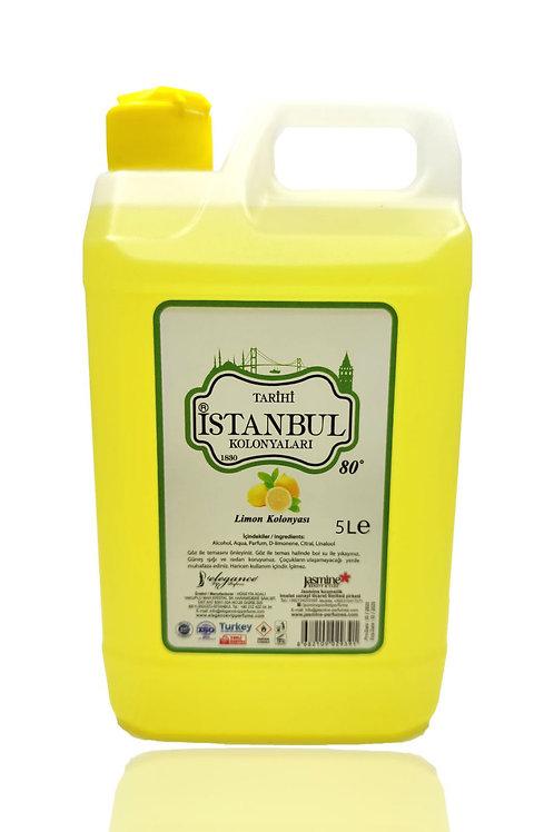 5 Lt Bidon 80° Limon Kolonyası