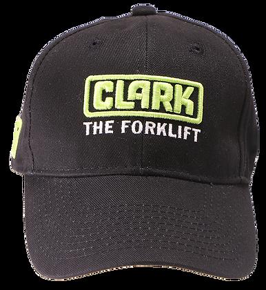 CLARK the Forklift Standard Cotton Twill Black Hat