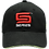 Thumbnail: Black Cotton Twill S Series Hat