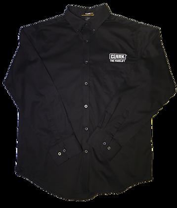 Men's Black Button Down Dress Shirt