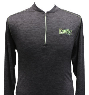 Men's 3/4 Inch Zip moisture-wicking pull over