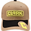 "Thumbnail: Premium Khaki Mesh CLARK ""C"" Bill Hat"