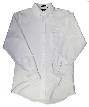 Men's Classic White Button Down Shirt
