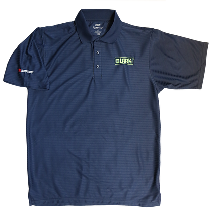Navy Tonal Polo with S Series