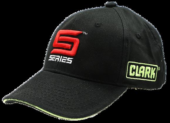 Black Cotton Twill S Series Hat