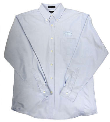 Men's Light Blue Button Down Dress Shirt