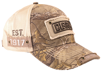Real Tree Premium Cotton Twill Hat CLARK Patch Front