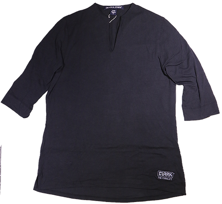 Ladies 3/4 Black Tunic Shirt