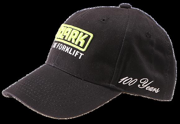 100th Black Cotton Twill Hat