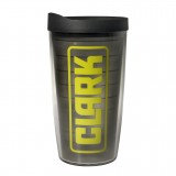 CLARK 16 oz. Tumbler with Lid