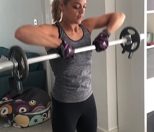 Clients Training with me at home