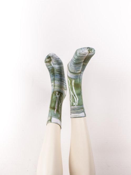 Socks > Light-Green Blue