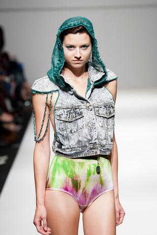 MQ Vienna Fashion Week - Rock'n Dye Show