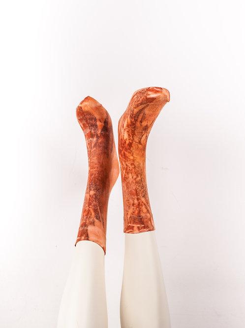 Socks > Corall Orange