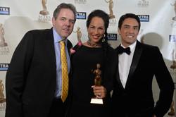 2014 ACTRA Awards w/ Amanda Brugel.