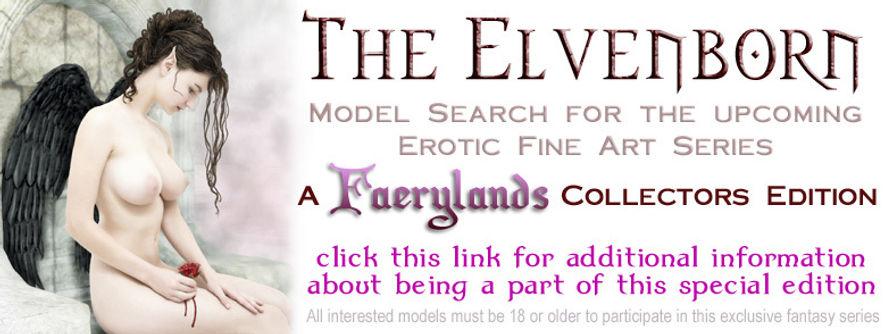 Elvenborn Model Search for Fantasy Art series www.GreyForest.com