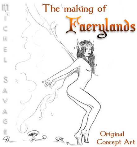 Faerylands original Concept Art by Michel Savage