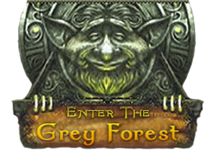 The Grey Forest fantasy artwork by author Michel Savage Realm of the Faerie www.GreyForest.co