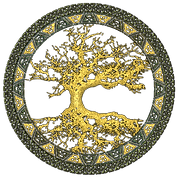 Tree of life the world tree of the Faerylans series by Michel Savage www.GreyForest.com