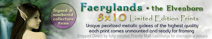 Faerylands 8x10 fantasy art prints by Michel Savage