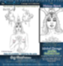 Matron Spirit Faerylands erotic original sketch artwork