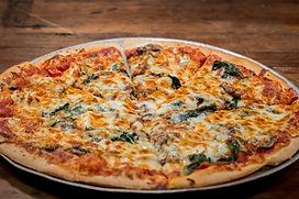 Popeyeroni Pizza