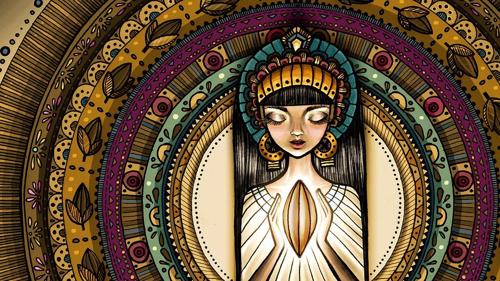 Princesa del Cacao en Divina Cocoa