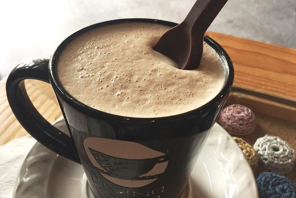 Chocolate espumoso