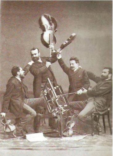 Funny Quartet Photo