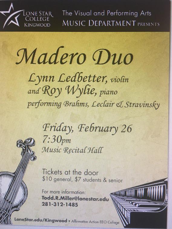Madera Duo Poster