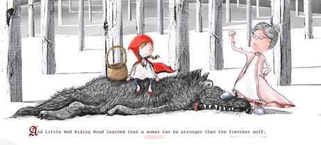 Little Red Riding Hood on International Women's Day
