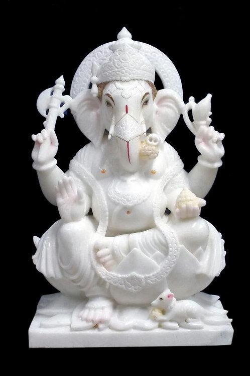 Marble Ganesha 2 feet