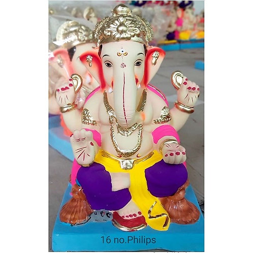 Philips Eco Friendly Ganesha - 12/13 Inch (Shadu Mitti)