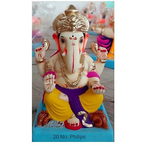 Philips Eco Friendly Ganesha - 10 Inch (Shadu Mitti)