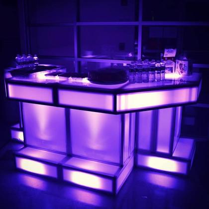 Custom Light Up Bar