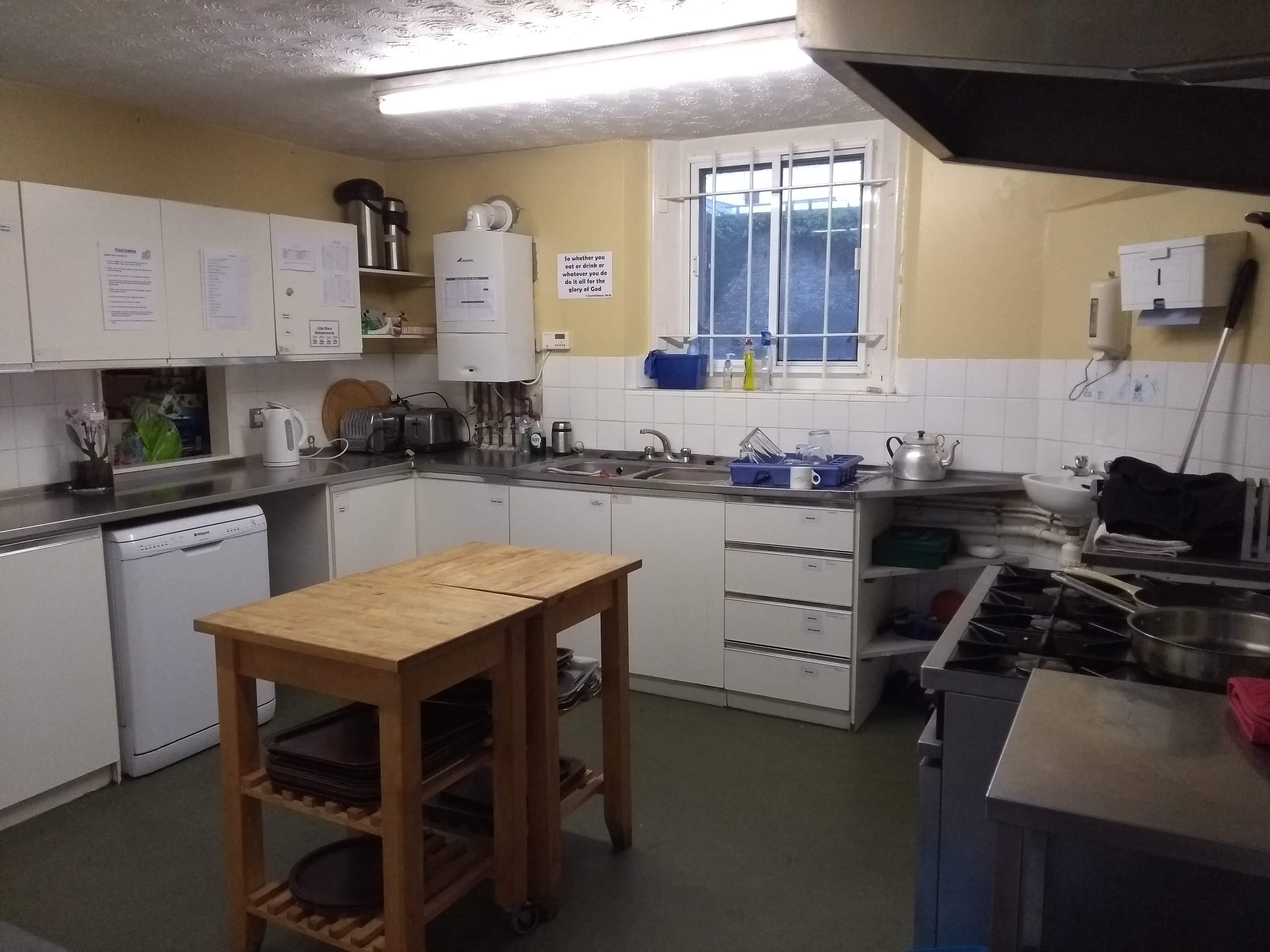 Side Hall Kitchen
