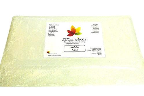 Jabón base de glicerina tocador 500g