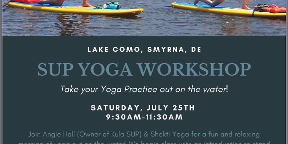 SUP Yoga Workshop