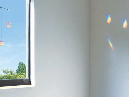 Rainbow drop mobile (虹のしずくのモビール)