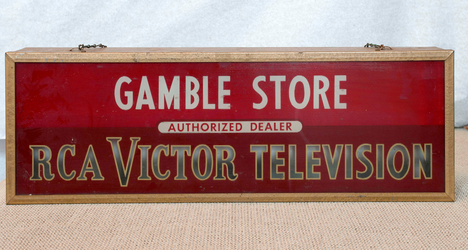 Sign - Gamble Store