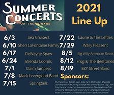 CSA 2021 Summer Concerts