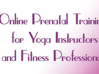 Revised Online Prenatal Yoga Training