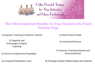 Teaching Prenatal Yoga and the Benefits for Teachers