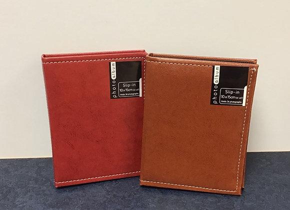 Leather Look 6x4 Photo Album