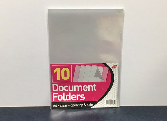 10 Document Folders