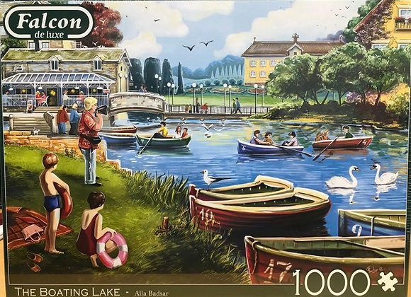 The Boating Lake - 1000 Piece Jigsaw