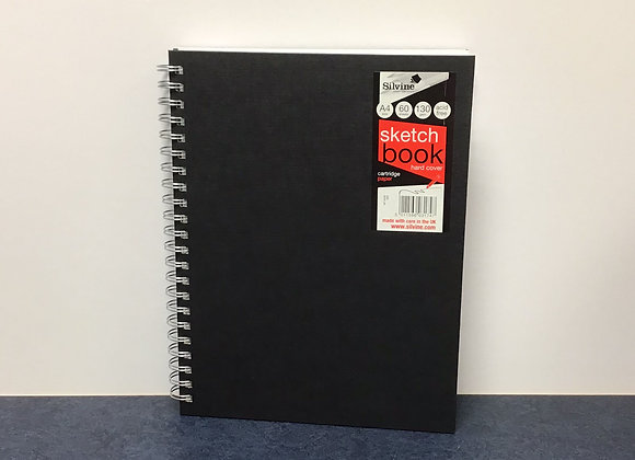 A4 Spiral Bound Hard Cover Sketch Book