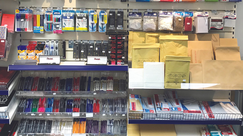 Pens and pack & post
